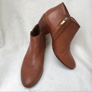 Sam Edelman Petty Leather Ankle Boots Booties 6